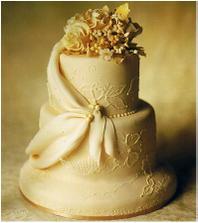 takhle nějak si představuju elegantní dort