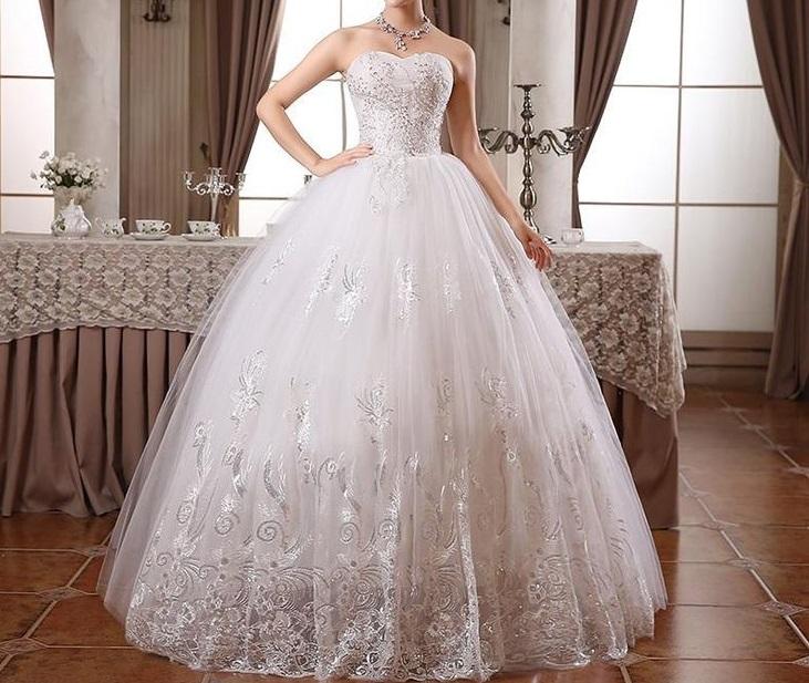 Výpredaj svadobný šiat - LEN 95€ - Obrázok č. 8