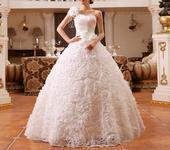 Dlhé svadobné šaty - 16 veľkostí, 32