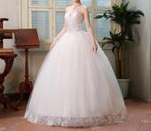 Dlhé svadobné šaty - 16 veľkostí, 34