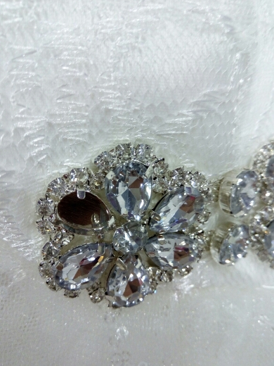 Krátke svadobné/popolnočné šaty - 7 veľkostí - Obrázok č. 4