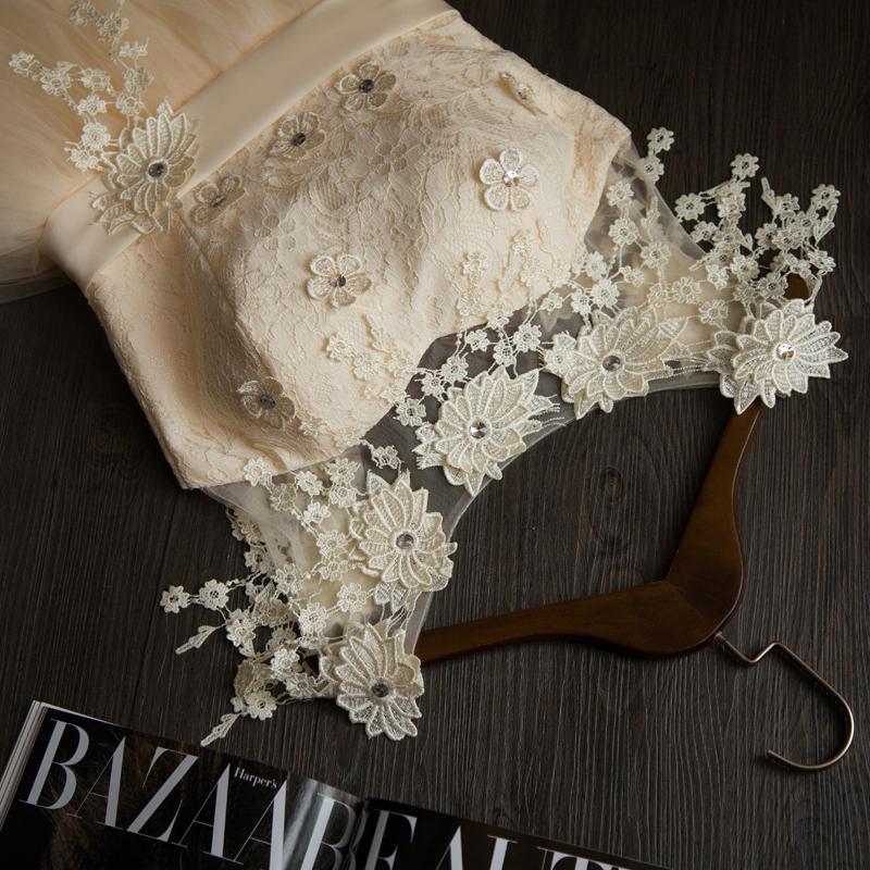 Krátke svadobné/popolnoč. šaty-8 veľkostí-2 farby - Obrázok č. 4