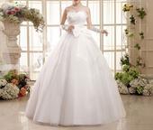Dlhé svadobné šaty - 16 veľkostí, 40