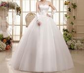 Dlhé svadobné šaty - 16 veľkostí, 46