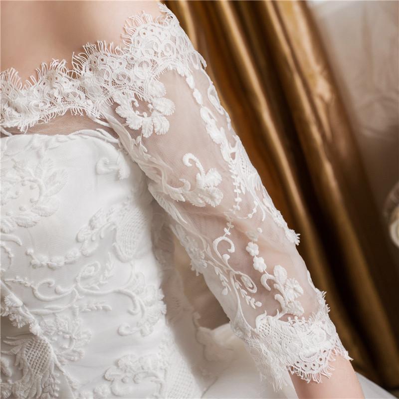 Dlhé svadobné šaty - 16 veľkostí - Obrázok č. 2