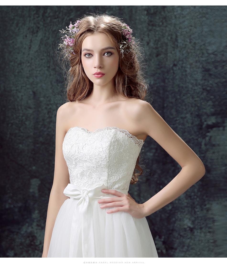 Dlhé svadobné šaty - 11 veľkostí, 2v1, 2 farby - Obrázok č. 3