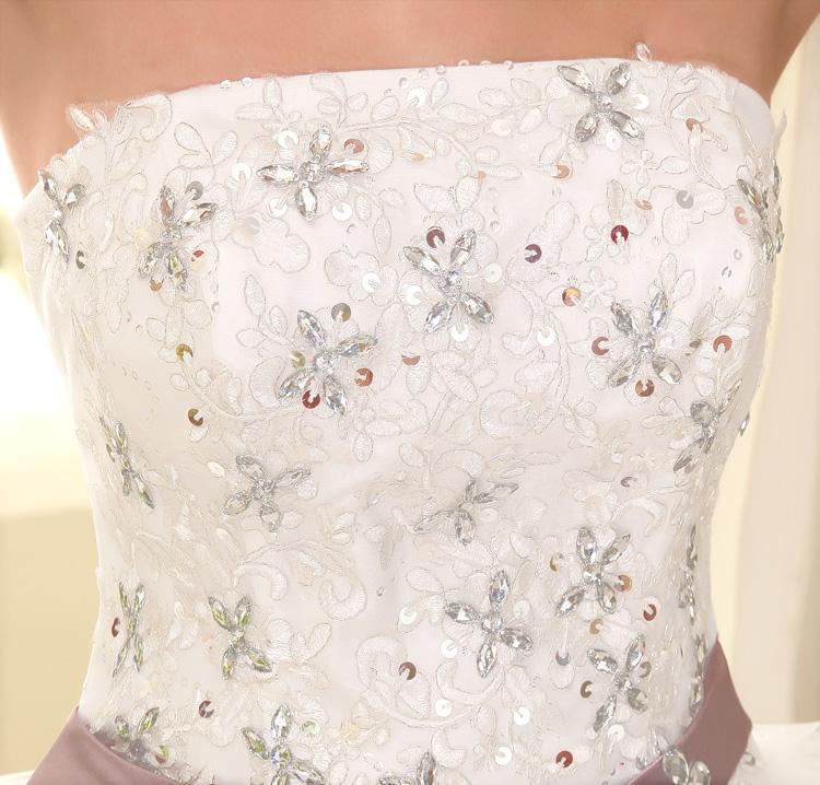 Dlhé svadobné šaty - 16 veľkostí - Obrázok č. 4