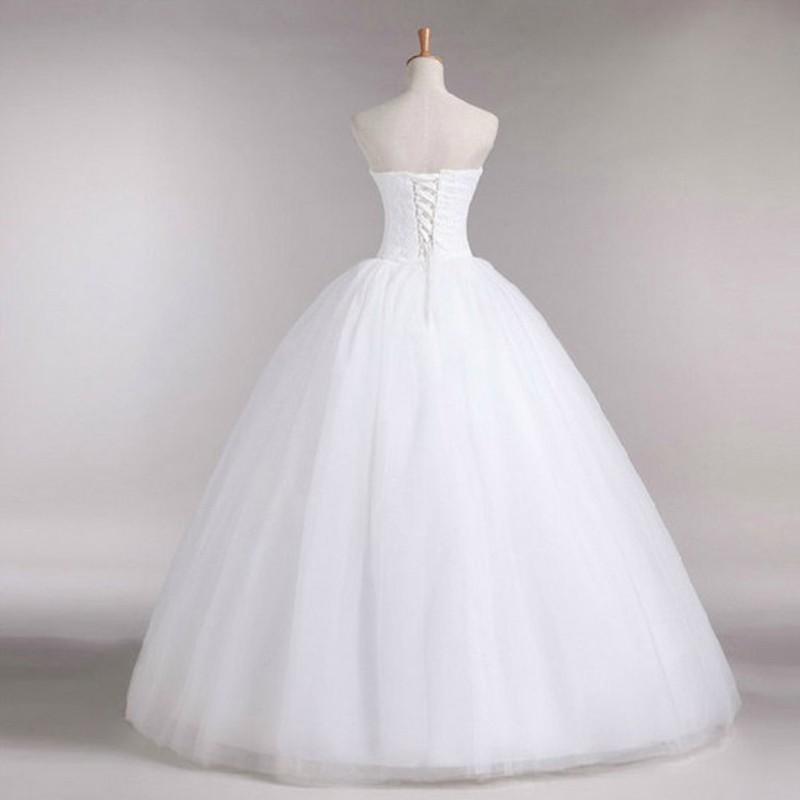 Dlhé svadobné šaty - 16 veľkostí, 3 varianty - Obrázok č. 2