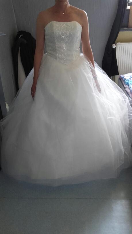 Dlhé svadobné šaty - 16 veľkostí, 3 varianty - Obrázok č. 4