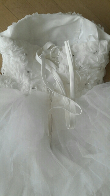 Krátke svadobné/popolnoč. šaty-5 veľkostí - Obrázok č. 3