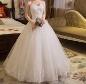 Dlhé svadobné šaty - 16 veľkostí, 38
