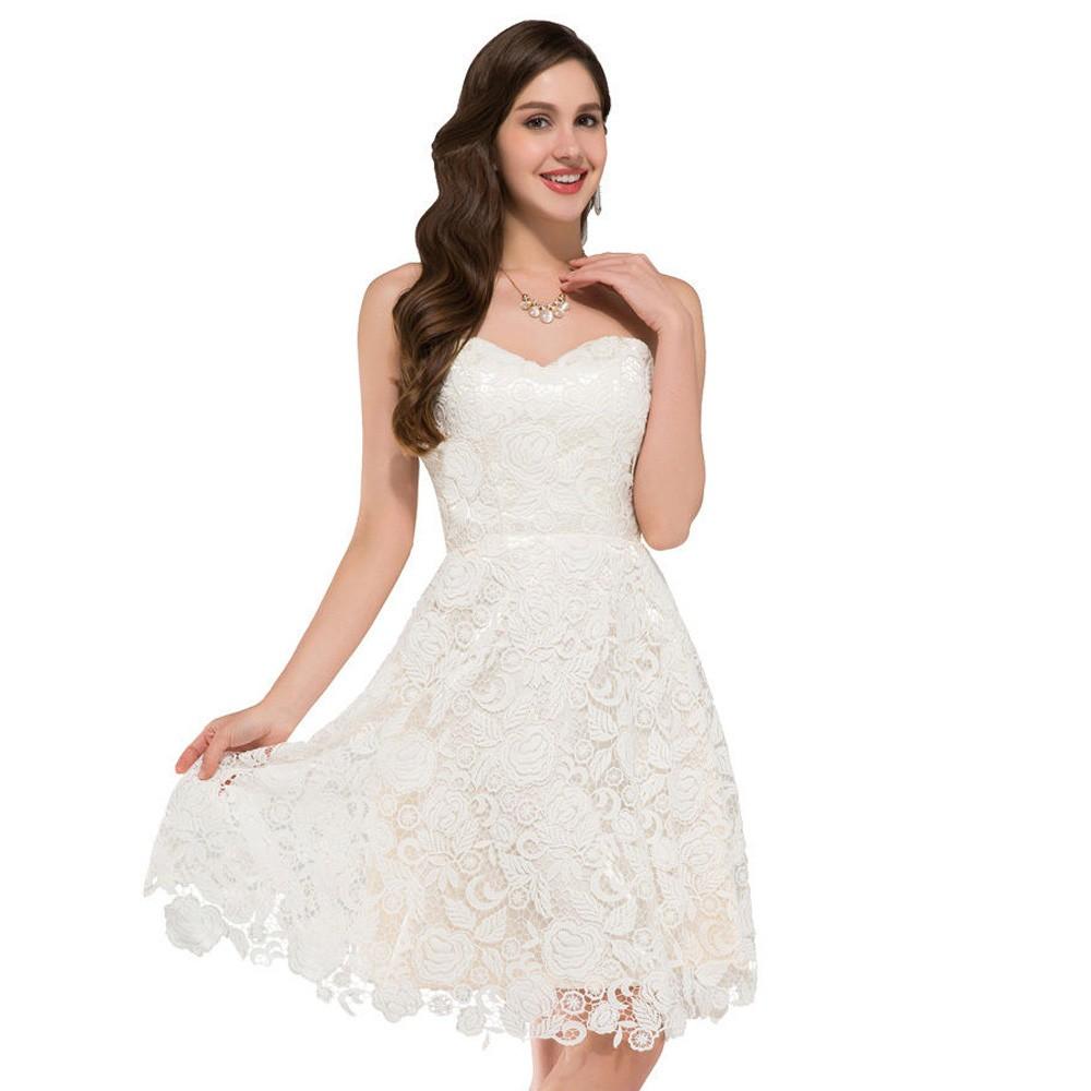 Krátke popolnočné šaty - 34-50 - Obrázok č. 1