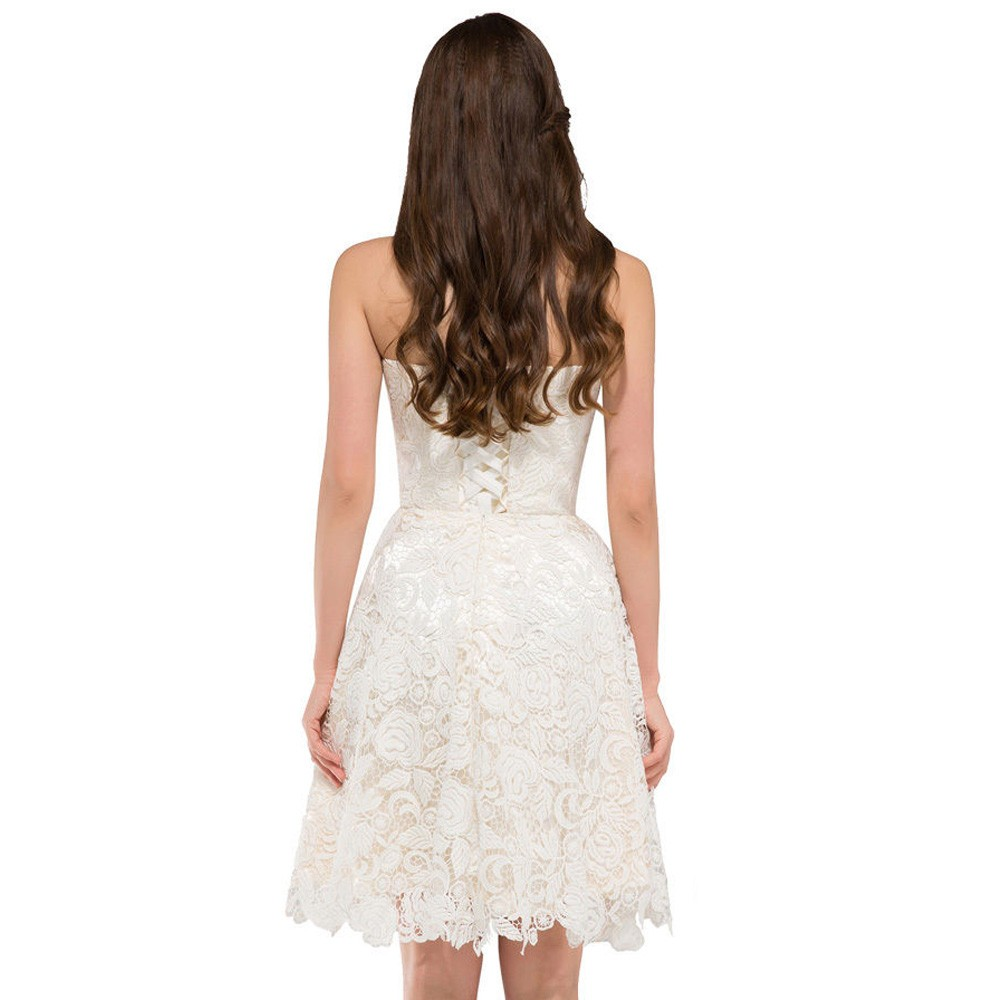 Krátke popolnočné šaty - 34-50 - Obrázok č. 2