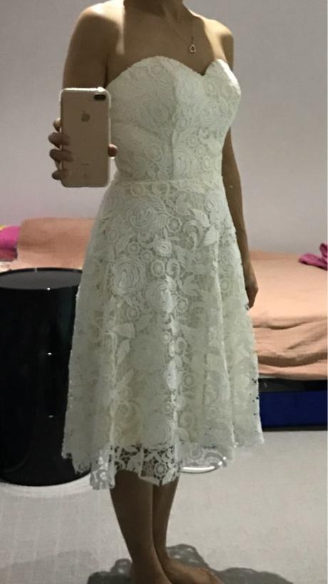 Krátke popolnočné šaty - 34-50 - Obrázok č. 4