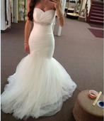 Dlhé svadobné šaty - 13 veľkostí, 3 farby, 36
