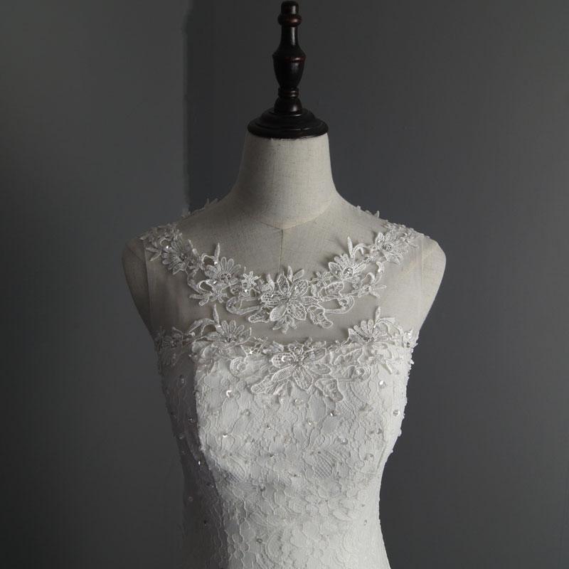 Dlhé svadobné šaty - 8 veľkostí - Obrázok č. 4