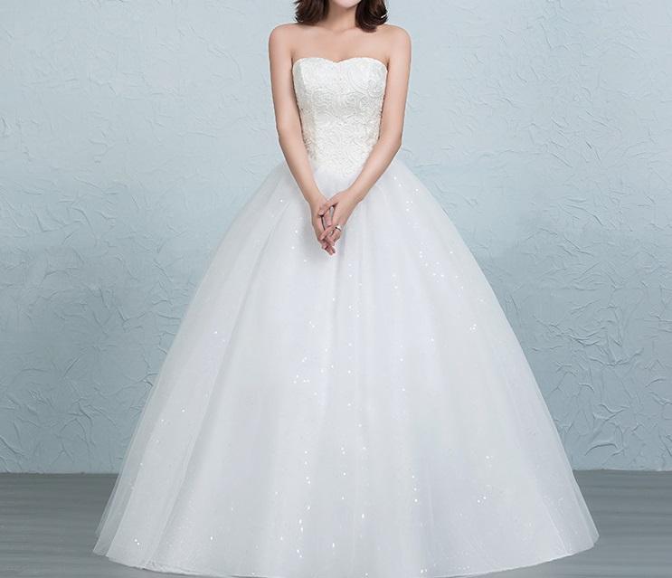 Dlhé svadobné šaty - 16 veľkostí 5 - Obrázok č. 1