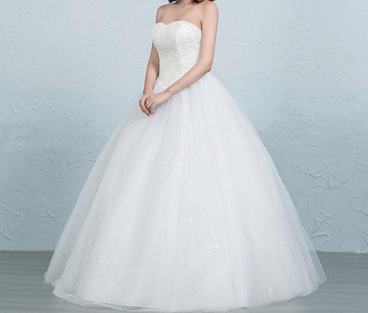 Dlhé svadobné šaty - 16 veľkostí 5 - Obrázok č. 3