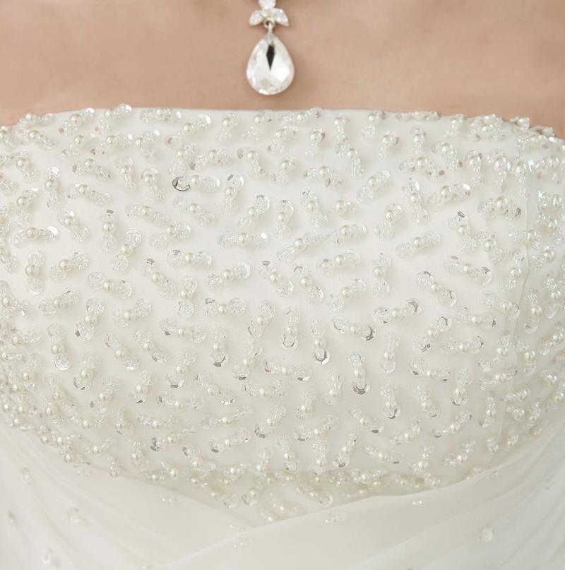Dlhé svadobné šaty - 4 veľkosti - Obrázok č. 2