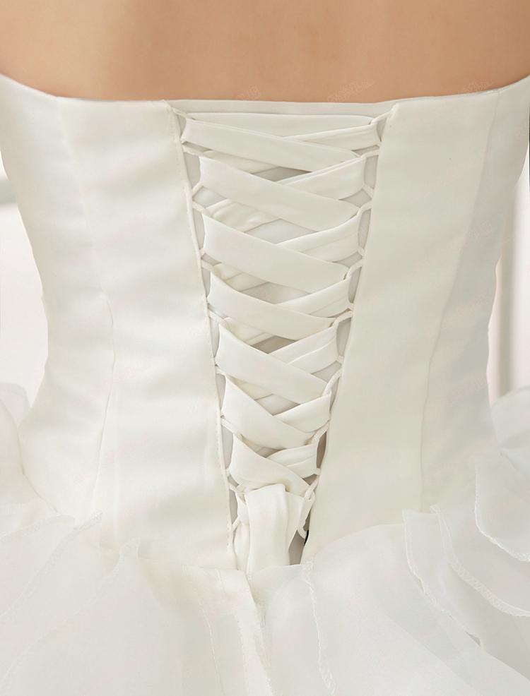 Dlhé svadobné šaty - 4 veľkosti - Obrázok č. 4