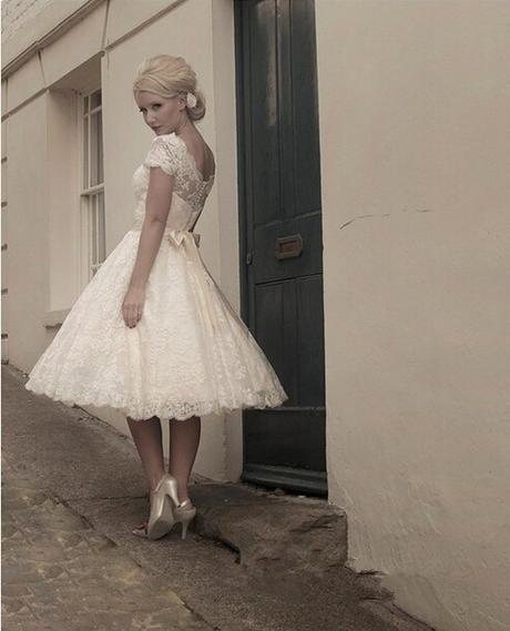Krátke svadobné/popolnoč. šaty-15 veľkostí-3 farby - Obrázok č. 2