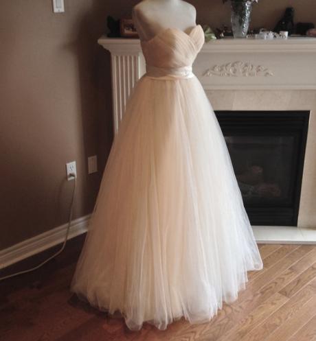 Dlhé svadobné šaty - 12 veľkostí, 3 farby - Obrázok č. 1