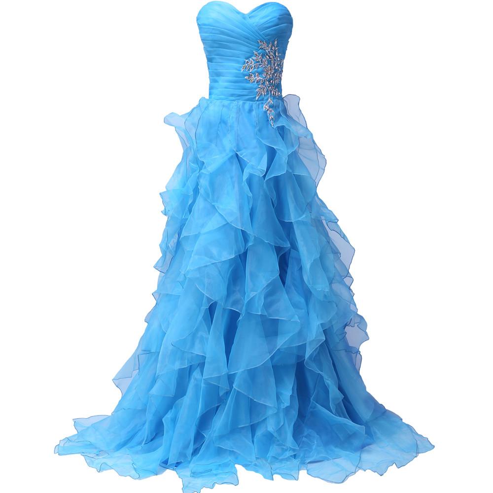 Dlhé spoločenské šaty - Grace Karin - 8 veľkostí - Obrázok č. 2