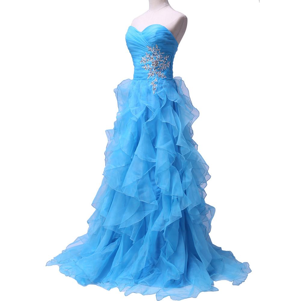 Dlhé spoločenské šaty - Grace Karin - 8 veľkostí - Obrázok č. 3