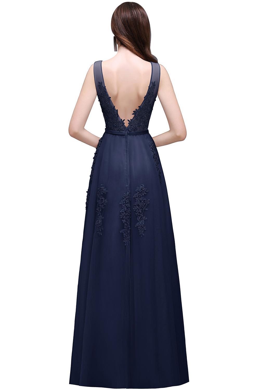 Dlhé svadobné šaty - 12 veľkostí, rôzne farby - Obrázok č. 2