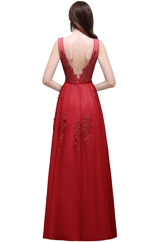 Dlhé svadobné šaty - 12 veľkostí, rôzne farby - Obrázok č. 4