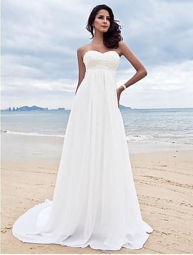 Dlhé svadobné šaty - 9 veľkostí, 2 farby - Obrázok č. 1