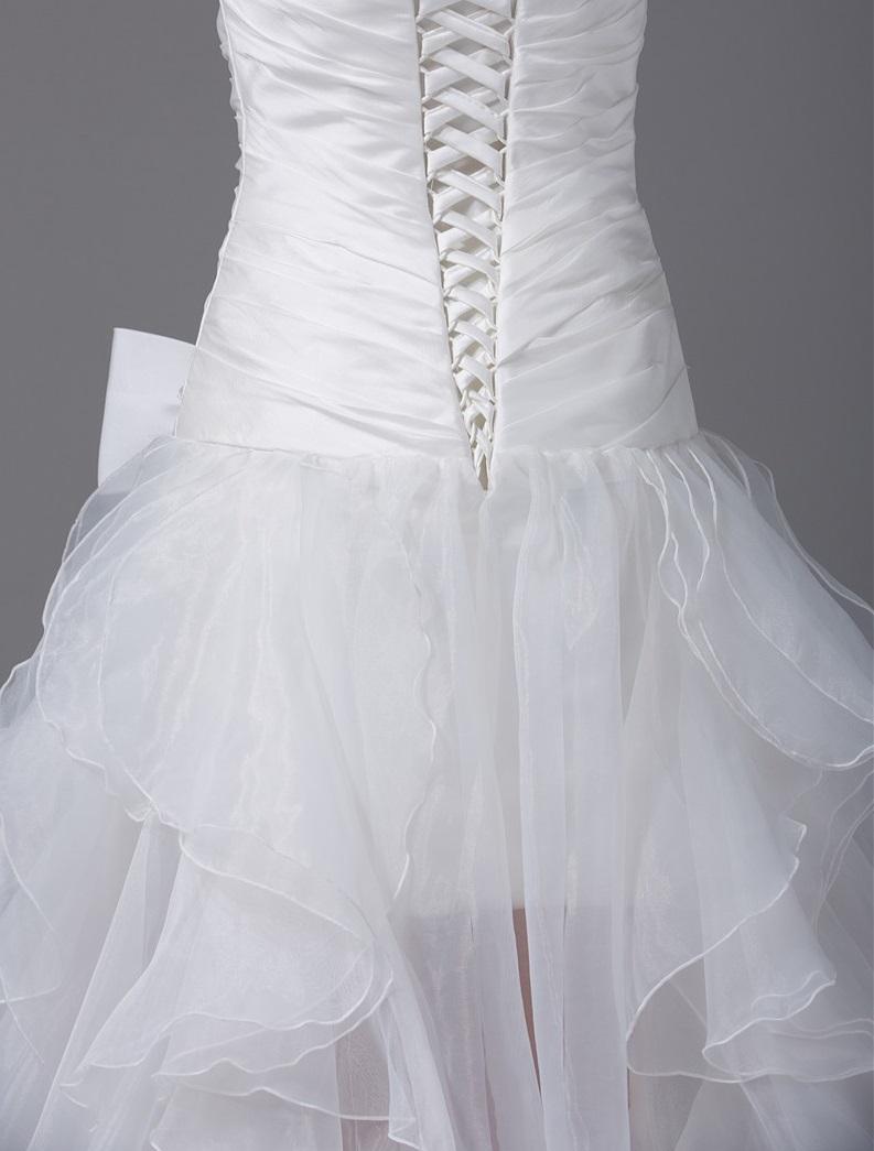 Asymetrické svadob./popol.šaty-13 veľkostí,9 farie - Obrázok č. 3