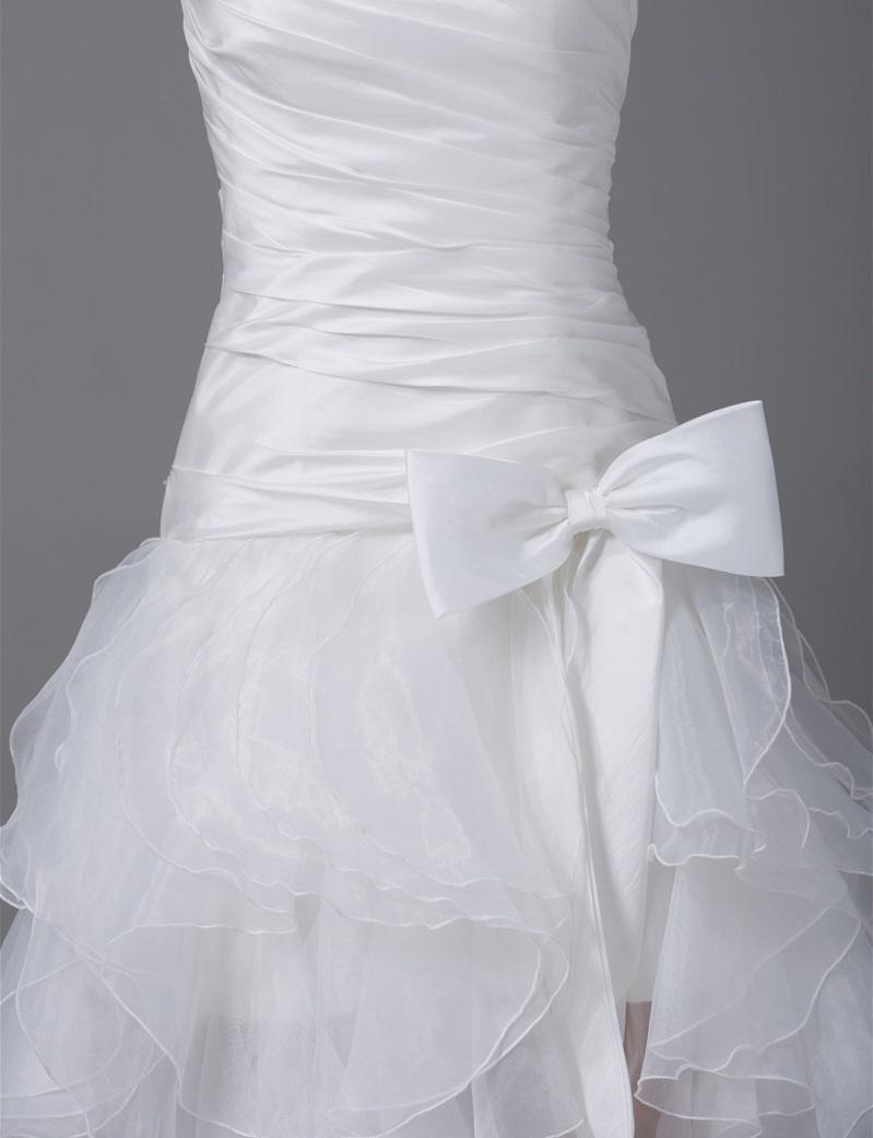 Asymetrické svadob./popol.šaty-13 veľkostí,9 farie - Obrázok č. 4