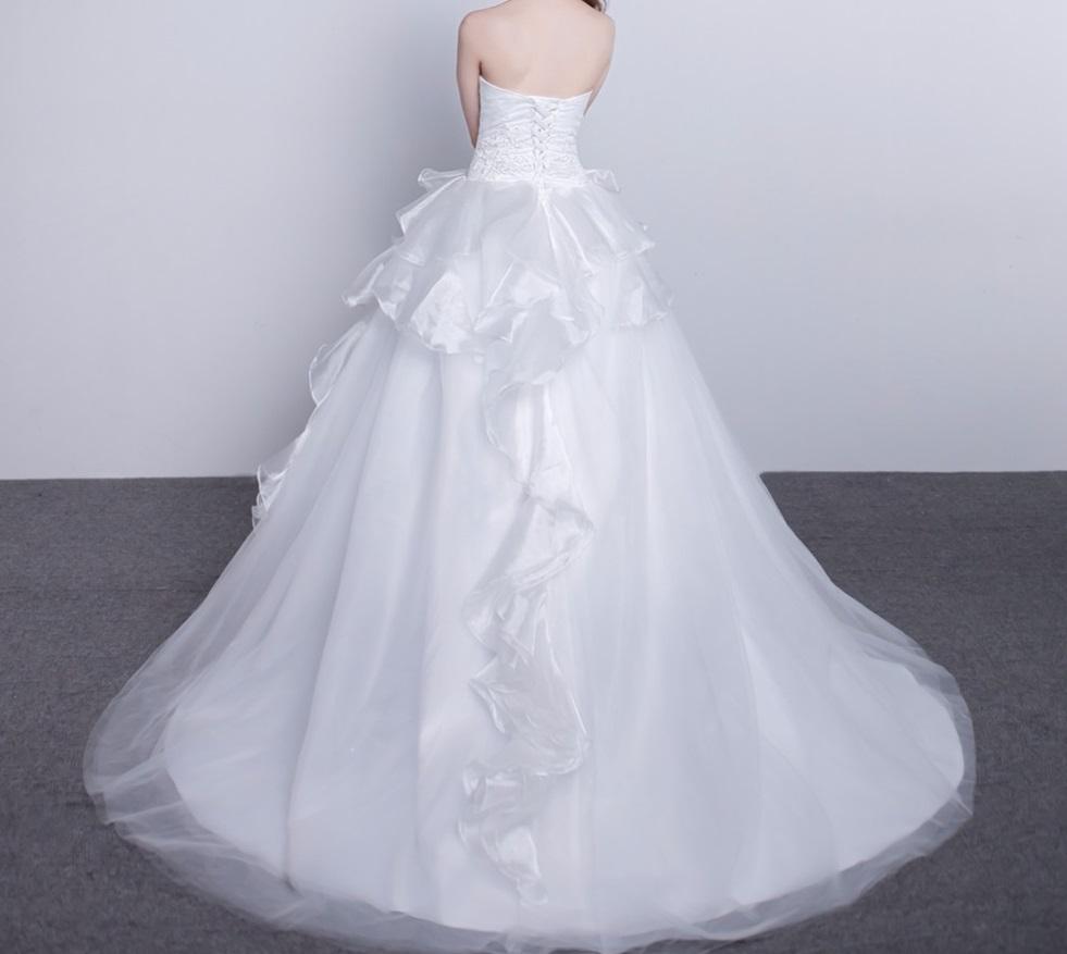 Dlhé svadobné šaty - 15 veľkostí - Obrázok č. 2