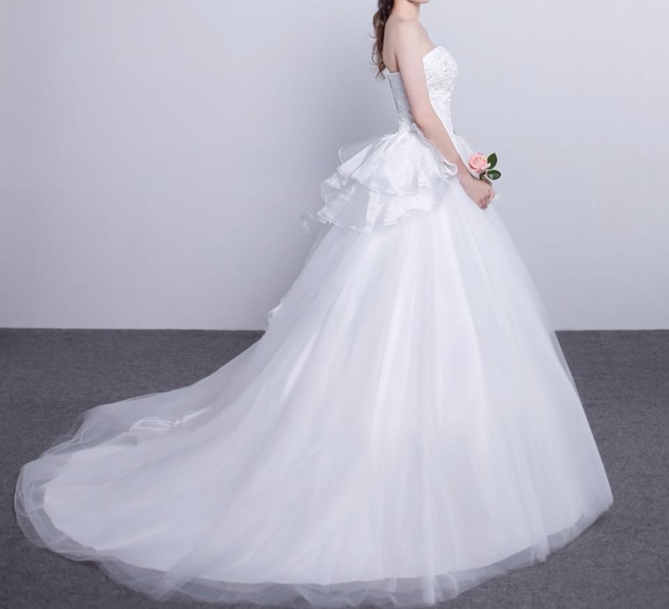 Dlhé svadobné šaty - 15 veľkostí - Obrázok č. 3