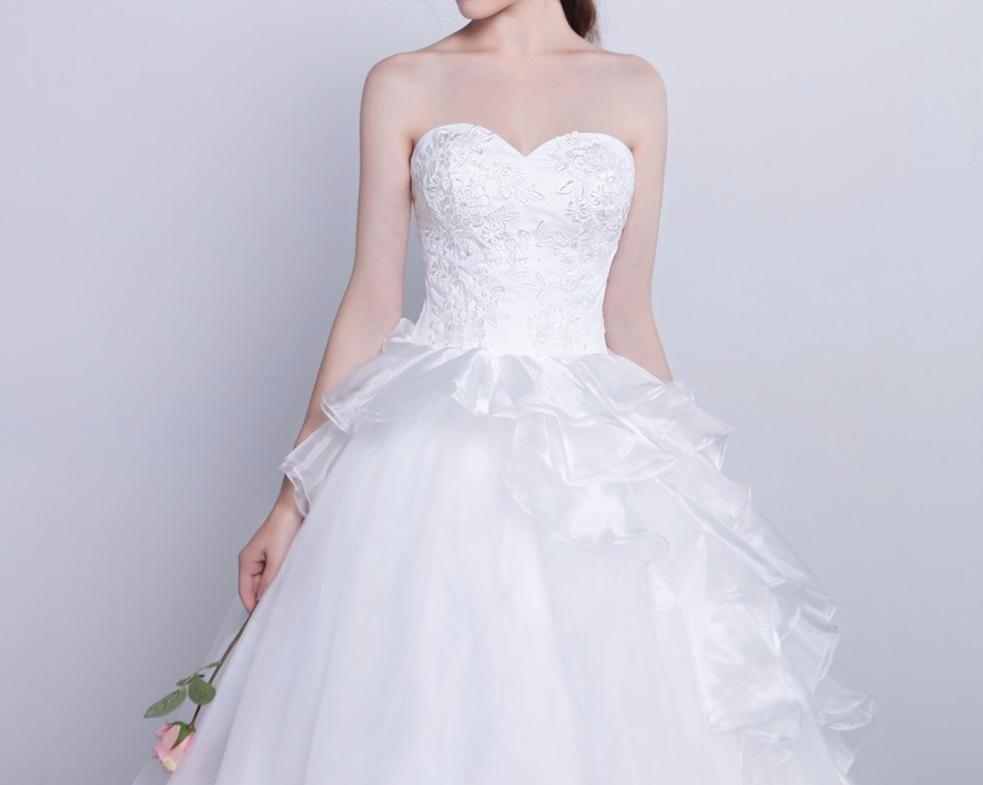 Dlhé svadobné šaty - 15 veľkostí - Obrázok č. 4