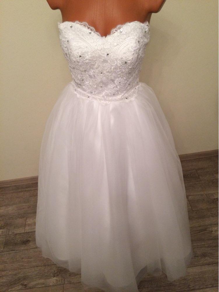 Dlhé svadobné šaty - 16 veľkostí, 2 farby - Obrázok č. 4