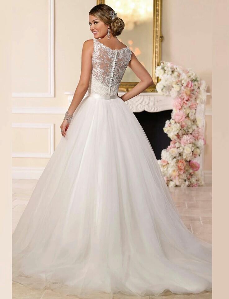 Dlhé/krátke svadobné šaty- 9 veľkostí, 2 farby-2v1 - Obrázok č. 1
