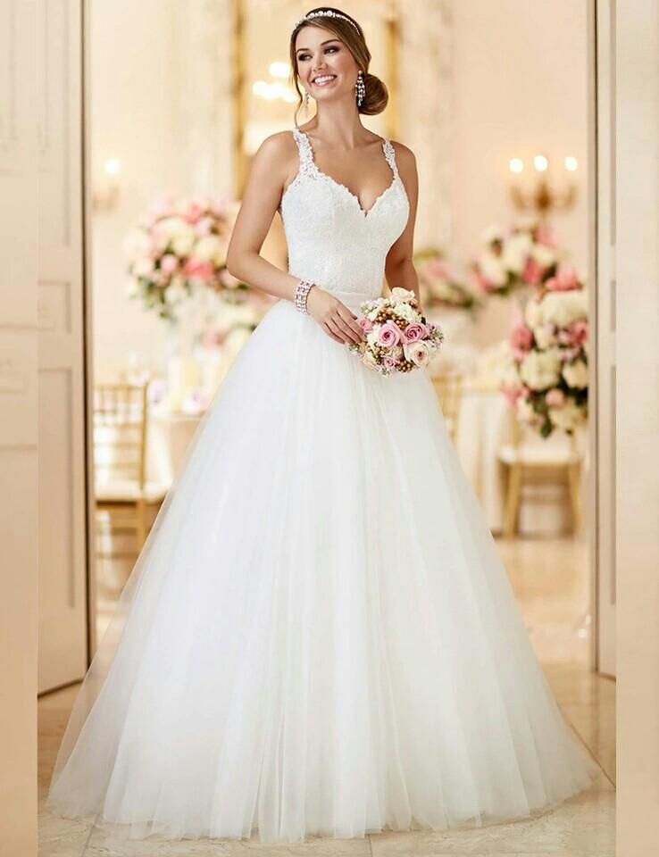 Dlhé/krátke svadobné šaty- 9 veľkostí, 2 farby-2v1 - Obrázok č. 2