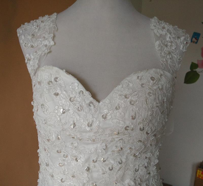 Dlhé svadobné šaty - 13 veľkostí, 2 varianty - Obrázok č. 2