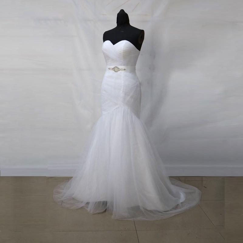 Dlhé svadobné šaty - 9 veľkostí, 5 farieb - Obrázok č. 3