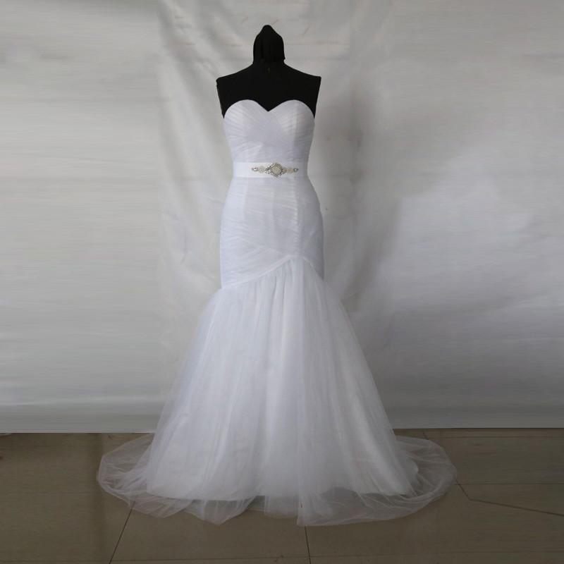 Dlhé svadobné šaty - 9 veľkostí, 5 farieb - Obrázok č. 4