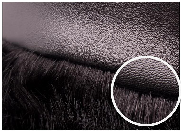 Spoločenské šaty s kožušinou - 4 veľkosti - Obrázok č. 4