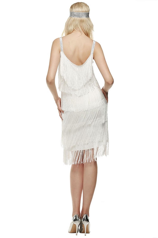 Spoločenské šaty + čelenka - 4 veľkosti, 3 farby - Obrázok č. 3