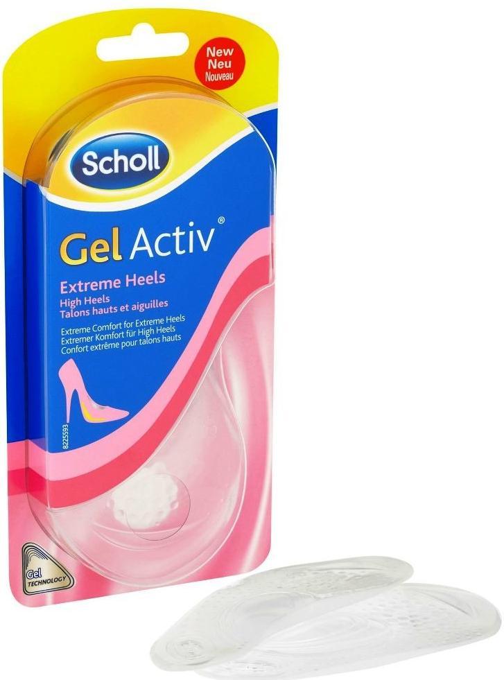 Scholl GelActiv vložky Extrémne vysoké podpätky - Obrázok č. 1