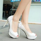 Svadobné lodičky, obuv - 6 veľkostí, 37