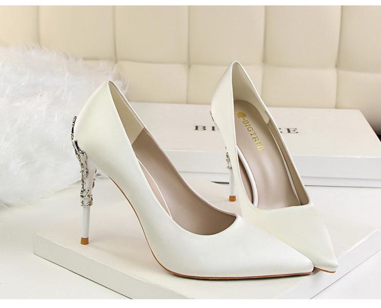 Svadobné lodičky, obuv - 6 veľkostí - Obrázok č. 2