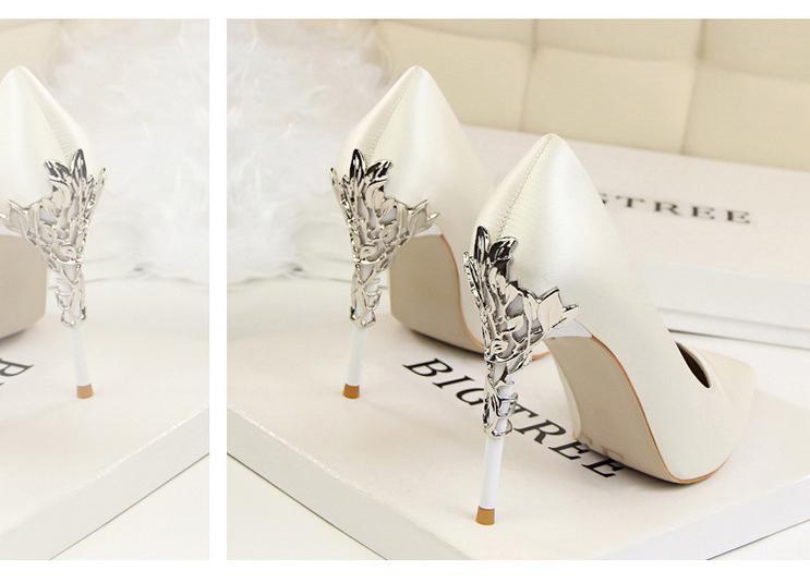 Svadobné lodičky, obuv - 6 veľkostí - Obrázok č. 3