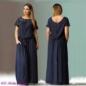 Dlhé šaty pre molet k dodaniu ihneď - XL, XL