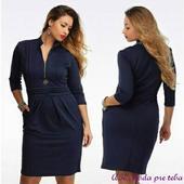 Čierne šaty pre moletky k dodaniu ihneď - 6XL, 52